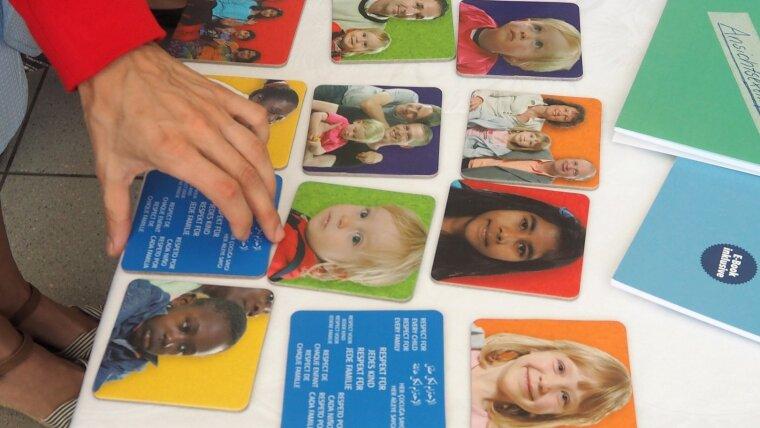 Memory Spiel: Respekt für jedes Kind